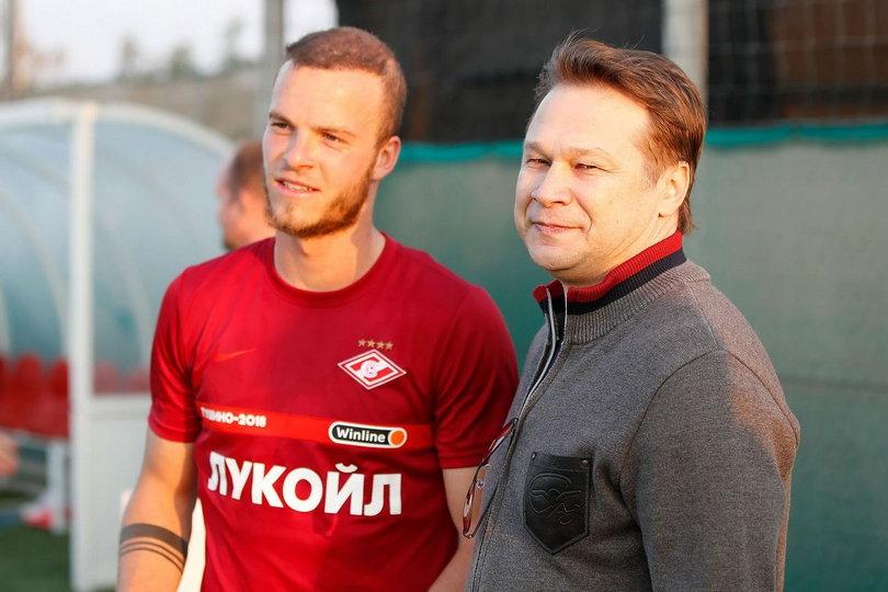 Йоррит Хендрикс и Дмитрий Попов