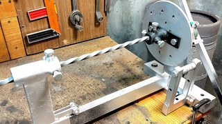 Станок Торсион своими руками. Станок для скручивания и гибки металла. Torsion machine DIY.