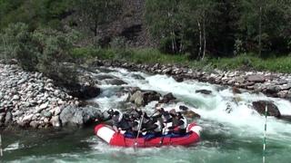 Река Кумир, Алтайский край, Россия, River Kumir, Altai, Russia, HD GoPro