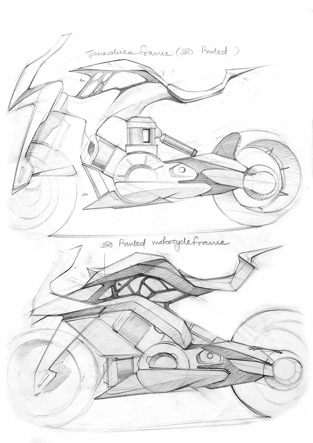 Мохит Соланки - концепт электрического супербайка KTM