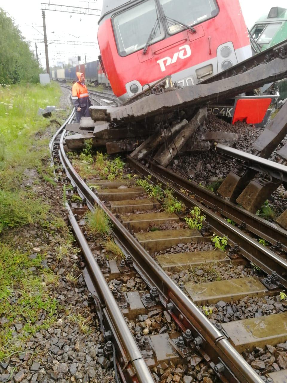 авария на ржд в санкт - петербурге