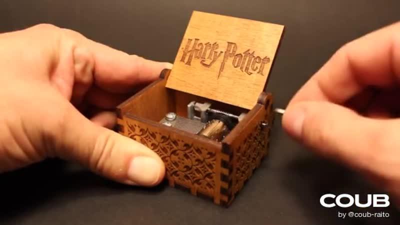 Harry Potter Theme Music box