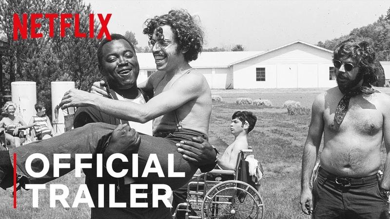 CRIP CAMP A DISABILITY REVOLUTION Official Trailer Netflix Documentary Audio Description