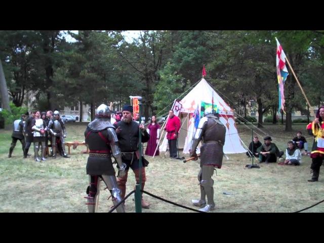 2011 WMAW - Armored Combat - Christian Tobler vs Bob Charrette