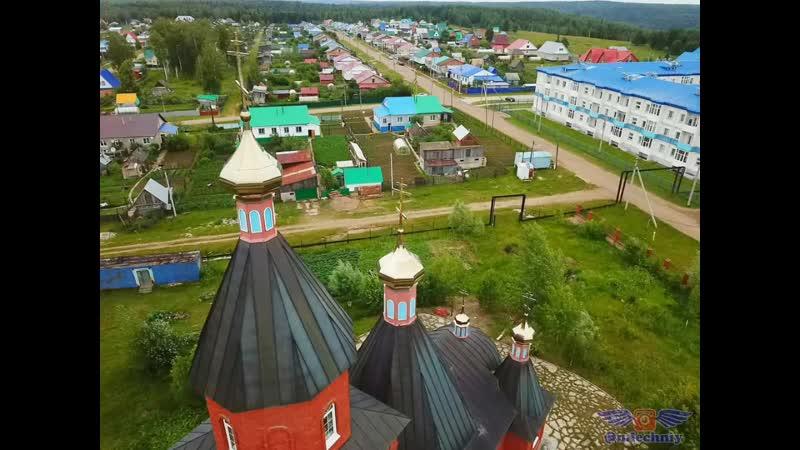 Нуримановский район. Вячеслав Антонов - Самосад скручу