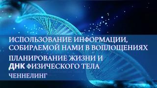 Использование информации, собираемой нами в воплощениях. Планирование жизни и ДНК физического тела