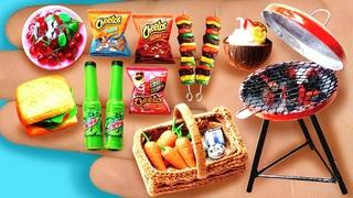 16 EASY REALISTIC DIY MINIATURE BARBIE IDEAS ~ Mini cheetos, mountain dew, cherry and more!