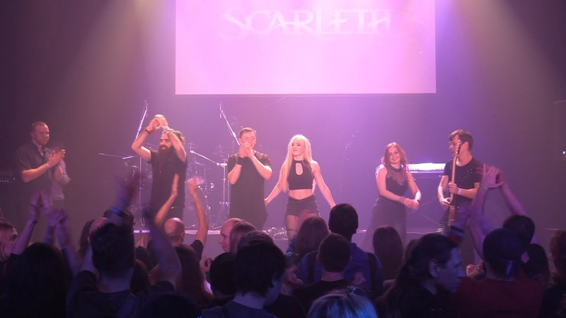Scarleth Night Of Lies Live in Kyiv 16 11 2019