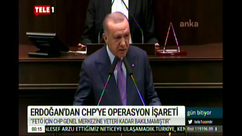 RTE GEZİ KARARI VE CHPYİ İŞARET ETTİ 19 2 2020 ÇRŞ