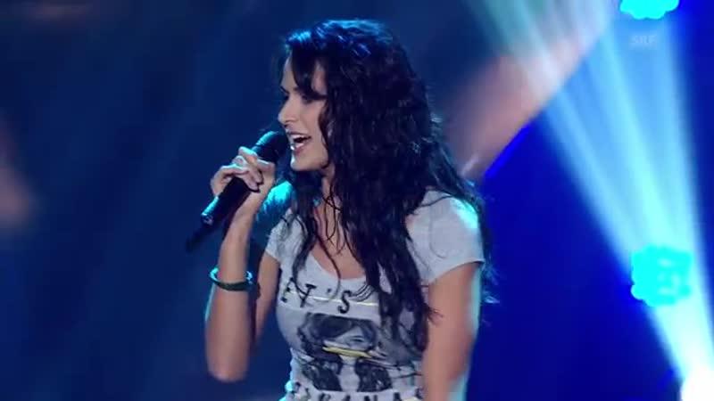Шоу Голос Швейцария Ванесса с песней Свобода The Voice Switzerland 2014 Vanessa Iraci Freedom