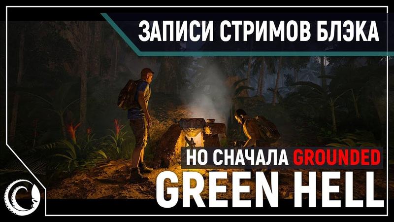 Вечер выживалок - в соло и 4D Grounded GreenHell [02.08.2020]