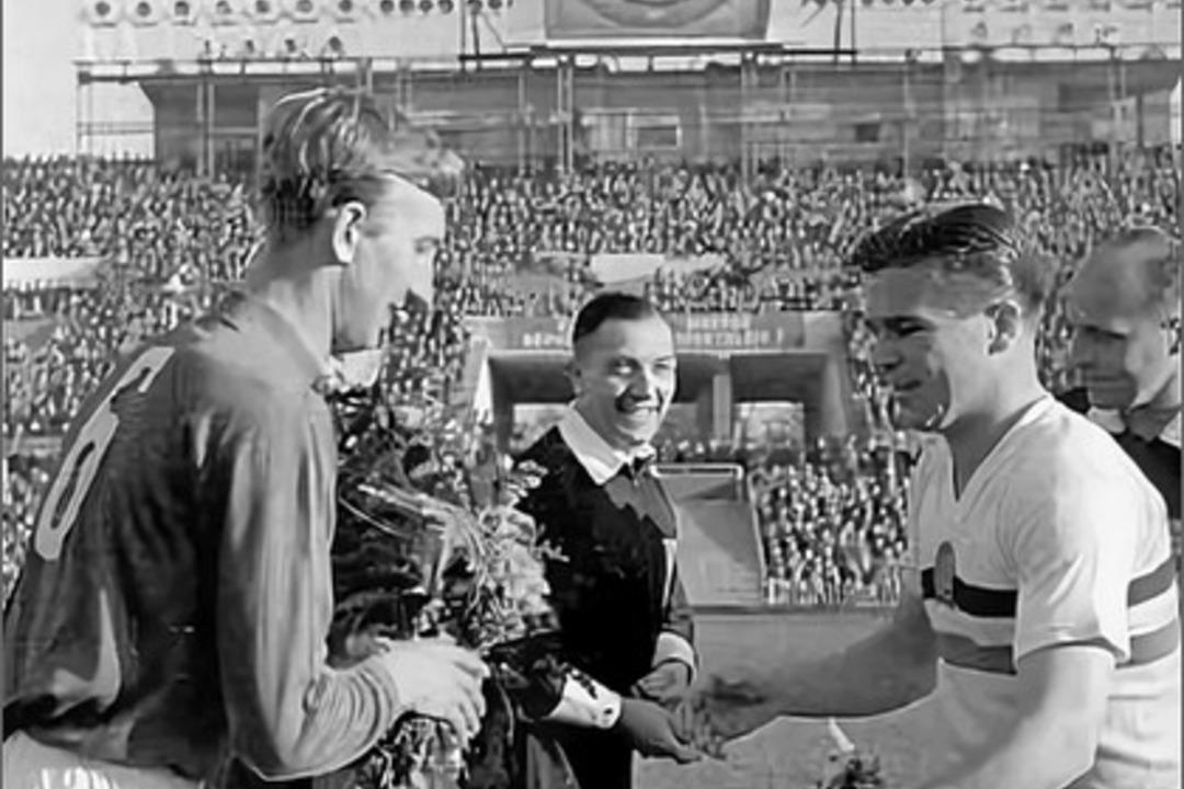 СССР - Венгрия 1954