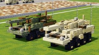 Minecraft Stryker M1128 Mobile Gun System Tutorial
