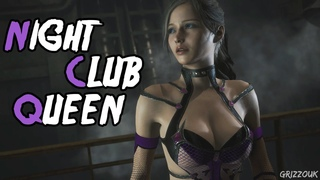 Resident Evil 2 Remake Claire Redfield Sexy Night Club Queen Outfit Mod