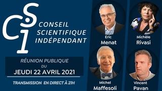 Réunion publique n°3 du Conseil scientifique indépendant (CSI) du 22/04/2021