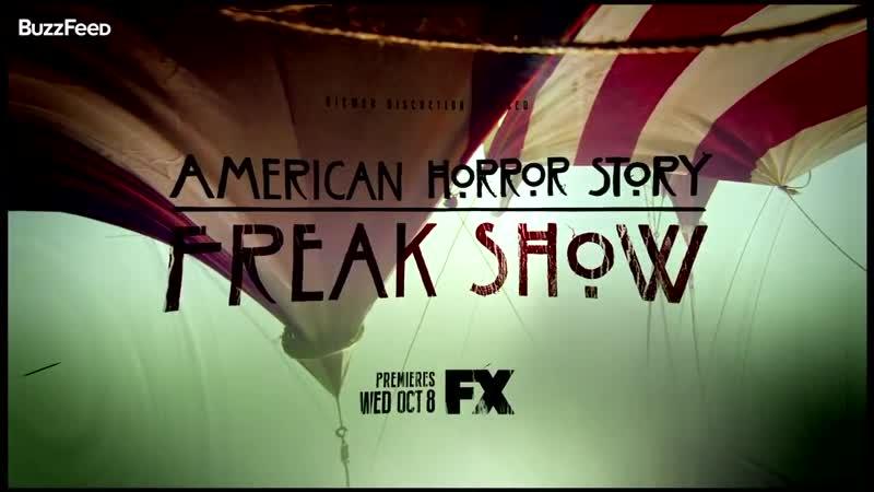 Американская история ужасов American Horror Story 2014 трейлер четвёртого сезона FX