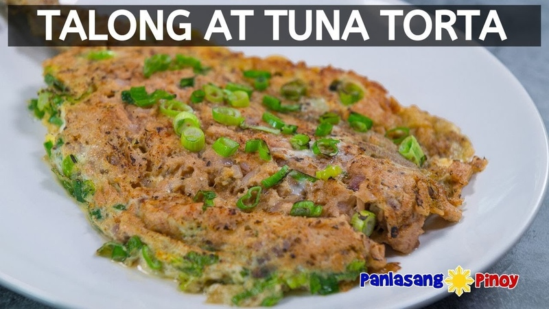 Talong at Tuna Torta | Easy Eggplant and Tuna Omelet