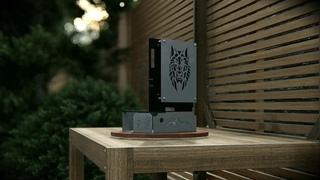 NART / Дизайнерский открытый корпус-стенд для сборки компьютера. Mini-ITX case for sff PC.