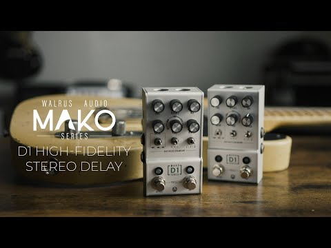 Walrus Audio Mako Series D1 High Fidelity Stereo Delay