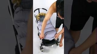 Универсальный чехол для ног в детскую коляску, зимний спальный мешок для детских колясок, аксессуары для детских колясок