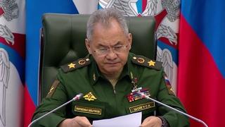 Заседание Коллегии Минобороны России под руководством Сергея Шойгу