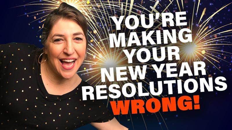 New Year's Resolutions Mayim Bialik
