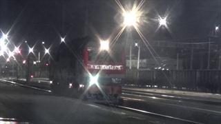 Смена локомотива на станции Ижевск