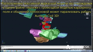 Создание САПР по горному делу в AutoCAD Civil 3D