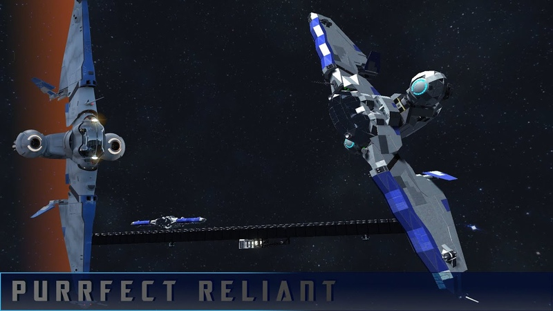 Star Citizen MISC Reliant DSN Space Engineers Showcase with Blinky