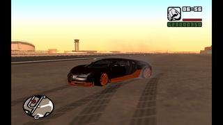 Bugatti Veyron SuperSport |ТЕСТ ДРАЙВ GTA SA #1