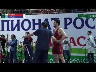 Массовая драка на Чемпионате России по вольной борьбе-2017 в Назрани