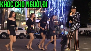 Khóc cho người đi   Thánh Lạc Trôi với điệu nhảy đường phố gái xinh nhìn là yêu