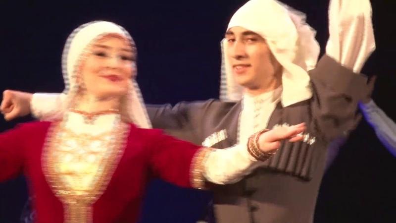 Абхазский танец Ансамбль Сармат Худ рук Эдуард Гугкаев