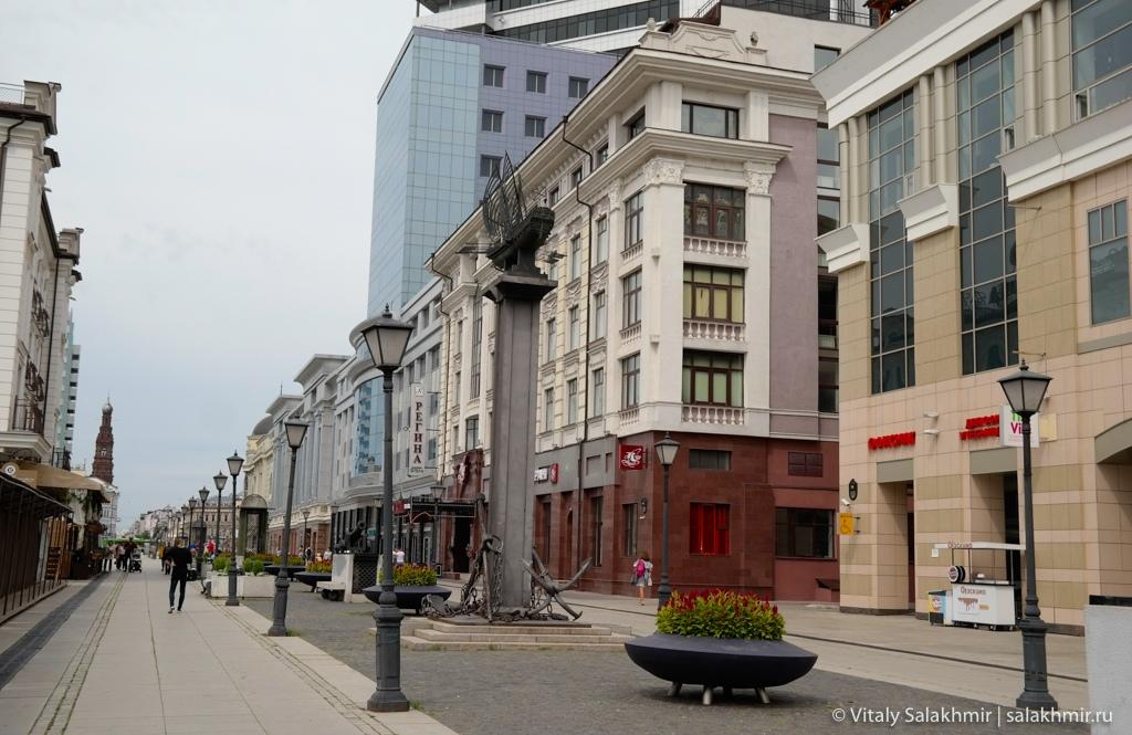 Путешествие в Казань 2020, улица Петербургская