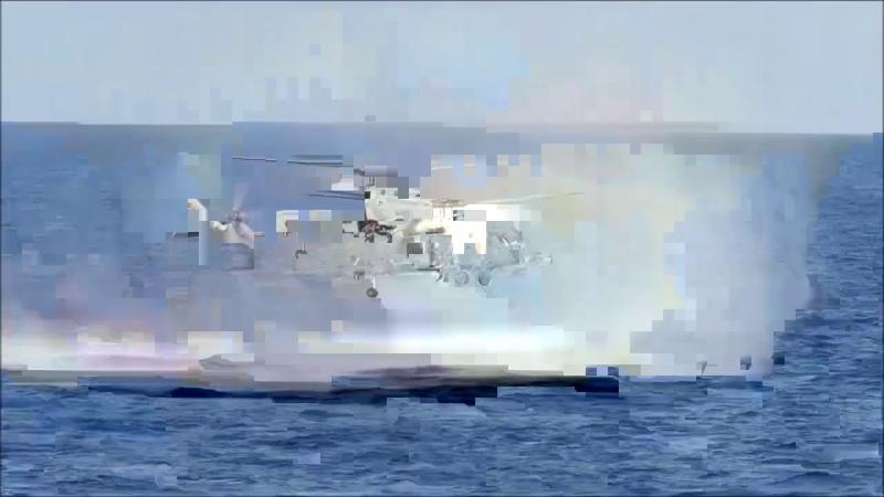 TCG GEMLİK Fırkateynimiz denizde arama kurtarma eğitimi icra edildi