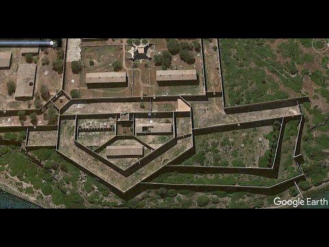 На гугл картах закрашивают форты