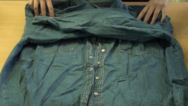 СР36 14 Рубашки джинсовые