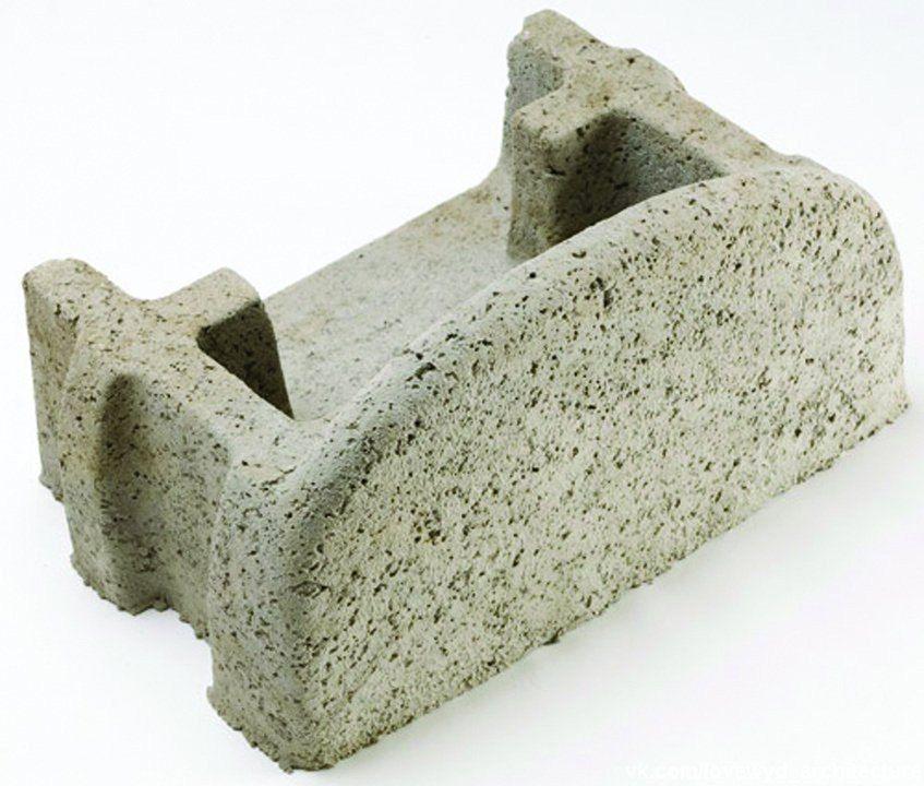 Стена из бетонных блоков — Verdura.