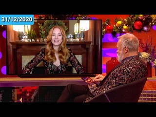 Jessica Chastain Talks about 'The 355' on The Graham Norton Show