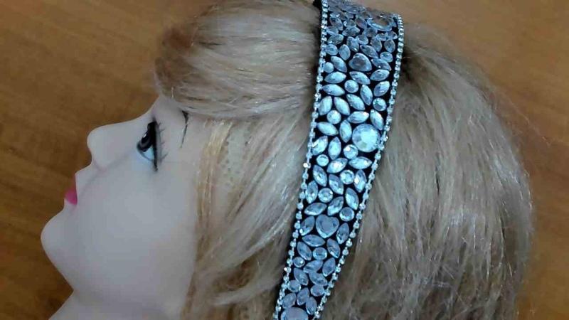 DIY/МК/ Как сделать модный обруч своими руками. Hair hoop