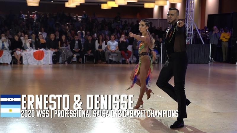Ernesto Denisse 2020 WSS Salsa On2 Cabaret Champions