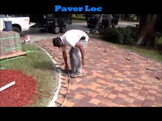 How to lay 1 pavers over existing concrete