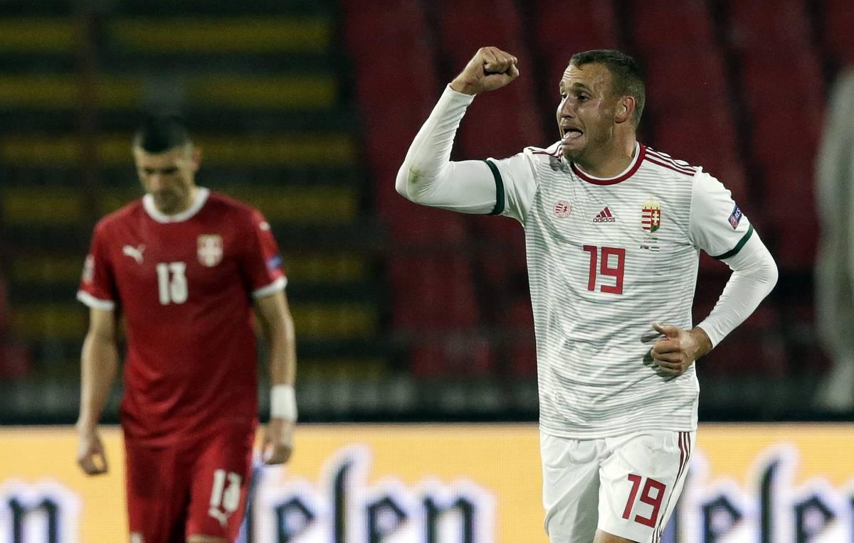 Сербия - Венгрия, 0:1. Лига Наций