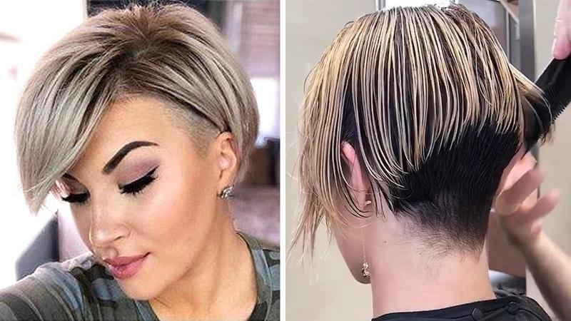 Прическа пикси и короткий боб Стрижки для женщин Pixie and short bob Haircuts for women