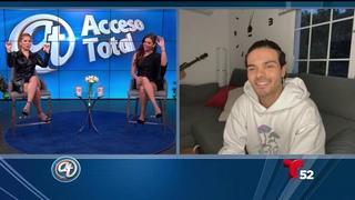 "Abraham Mateo estrena nuevo tema, ""Ni Te Imaginas""   Acceso Total   Telemundo 52"