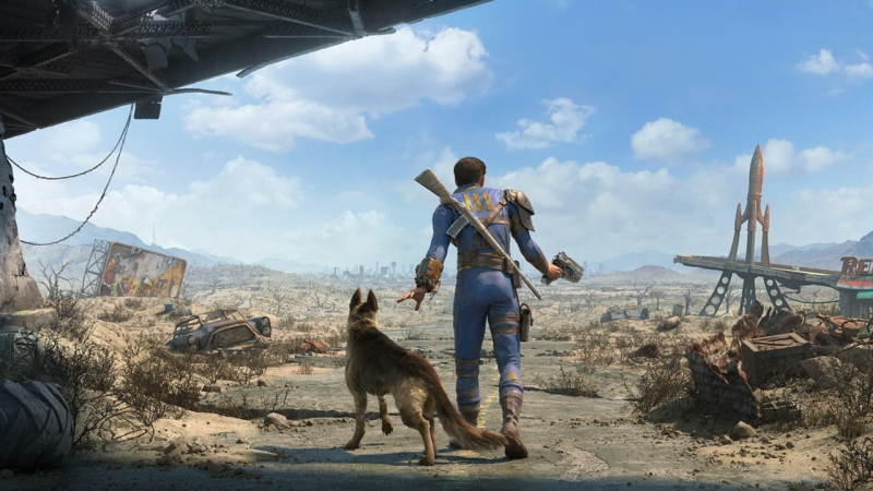 Fallout 4 Смотрим мод America Rising A Tale of the Enclave