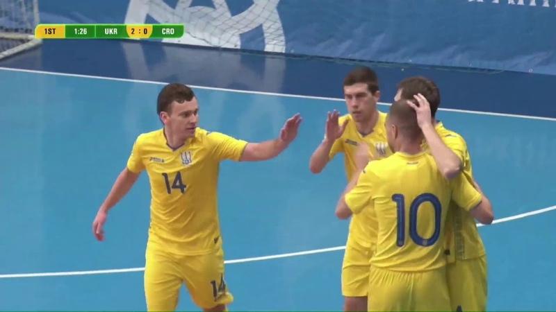 Highlights | Україна 31 Хорватія | Товариська зустріч №1