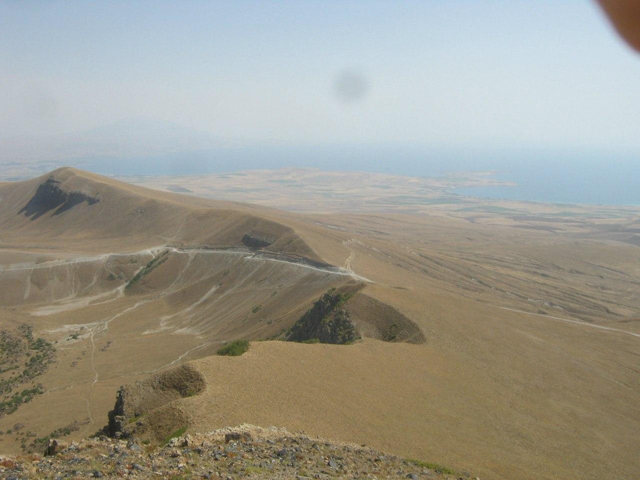 озеро Ван с вулкана Немрут