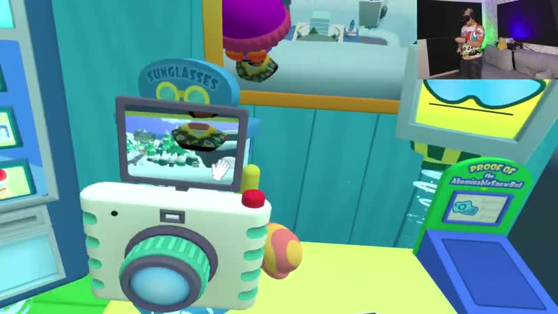 Глюк ГЛЮК В ОТПУСКЕ В ГОРАХ в VR HTC Vive Vacation Simulator VR