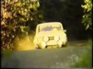 Azlk 1600 SL Rallye & Lada VFTS (1000 lakes rally '84, Finland)